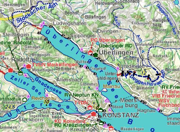 karte bodensee überlingen Bodensee Karte überlinger See | goudenelftal